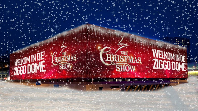 Koperensemble bij The Christmas Show
